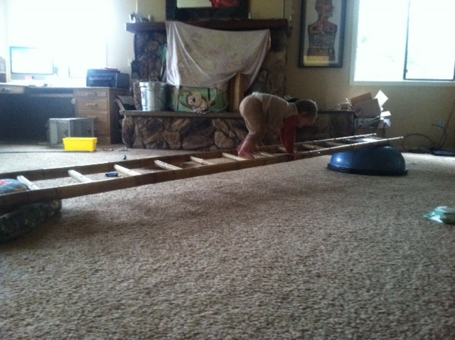 LaddersKid Play Nutritious Movement - Build monkey bars ladder