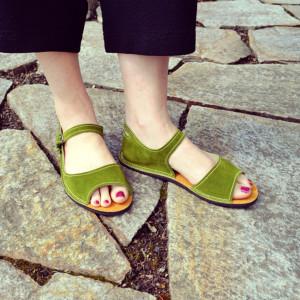 Adult-Solstice-Sandals-Green
