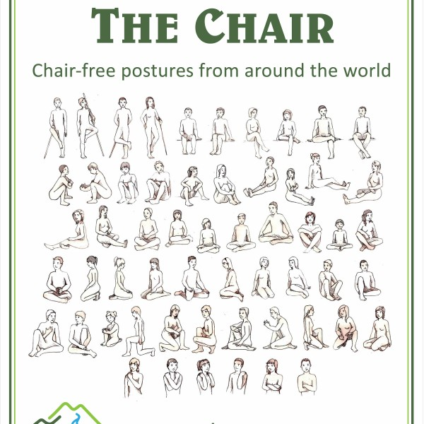 Think Outside The Chair Poster Nutritious Movement