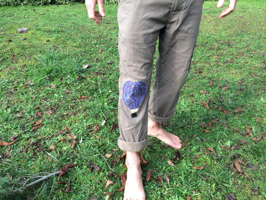 patch-on-pants