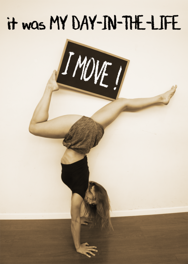 Gwendoline S.: I have done handstands since I was a little girl and my challenge for life is to be able to stand on my hands till the end of my life!  I aspire to being an old lady still able to do a handstand for some seconds! To achieve that goal, I practice it everywhere, as long and as much as I can!