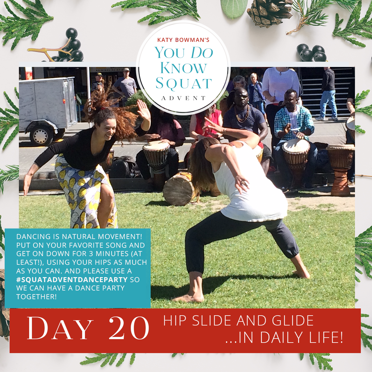 Exercise Advent Calendar 2017 You Do Know Squat Nutritious Movement Animal M Stak 21 Serving Day Cross Legged Stretch Use Your New Skills To Get Down The Floor And Legs In Front Of Place A Pillow Or Two Under Hips