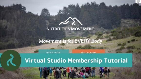 Virtual Movement Studio demo