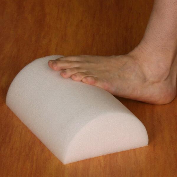 half dome foam roller